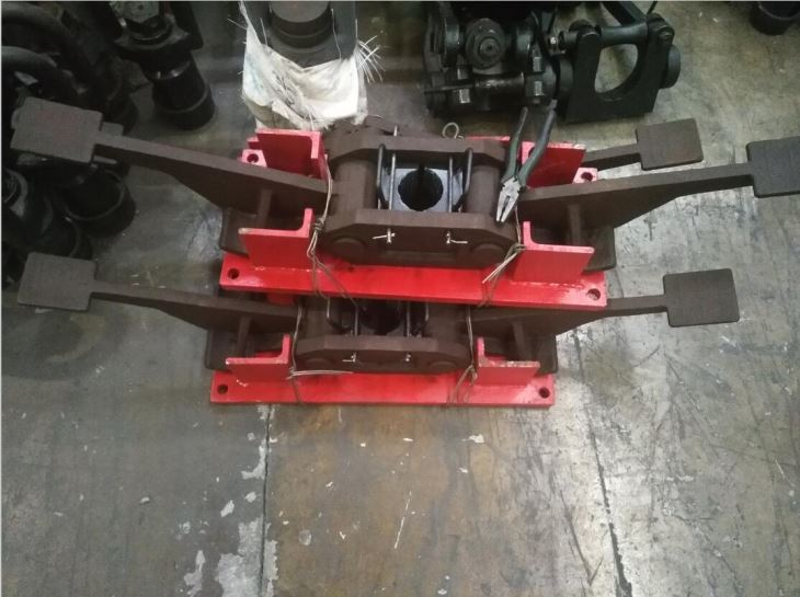 Foot Clamp, Rod Holder, Chuck Jaws for Drill Rod, Safety Drilling